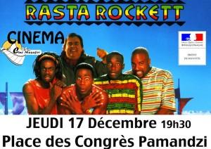 Annulation et report de la projection de Rasta Rockett à Pamandzi