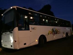 Les bus scolaires bloqués au collège de Passamainty