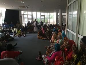 La CCI occupée par la SMART, les Femmes Leaders et les commerçants