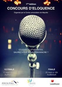 Concours d'eloquence affiche