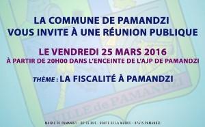 La fiscalité à Pamandzi, objet d'une réunion publique ce soir