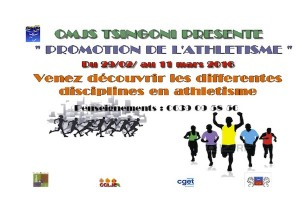 Animations sport vacances Tsingoni : l'athlétisme à l'honneur