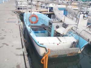 Le bateau volé Cap'tain Alandor retrouvé sans ses moteurs