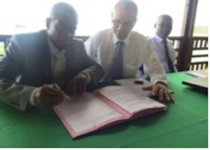 Signature du protocole FRAFU