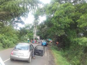 Barrage à Coconi Barakani