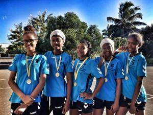 Les championnes UNSS Volley s'envolent pour la métropole