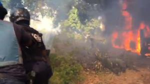 Un banga incendié cette nuit du côté de Mtsapéré