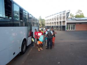 Opération de sécurisation des transports et établissements scolaires