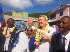 Marine Le Pen pourrait «sortir Mayotte de la pénombre dans laquelle elle est plongée»