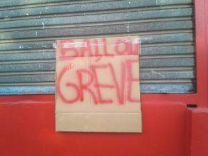 Les salariés de Ballou toujours en grève