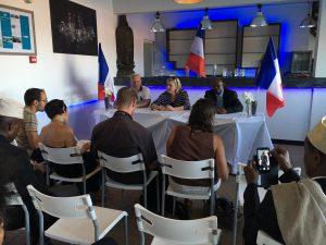 Quel bilan de la visite de Marine Le Pen ?