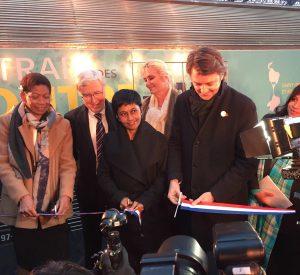 Le train des Outre-Mer inauguré par la MOM