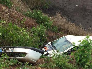 Pointe de Koungou : Collision entre deux véhicules