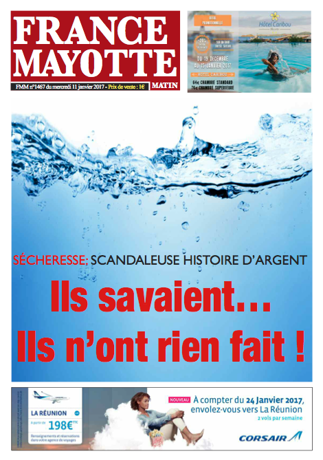 France Mayotte Mercredi 11 janvier 2017