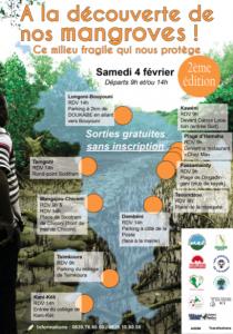 Journée mondiale des zones humides et visites des mangroves