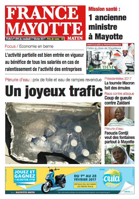 France Mayotte Vendredi 17 février 2017