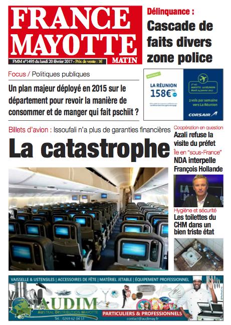 France Mayotte Lundi 20 février 2017