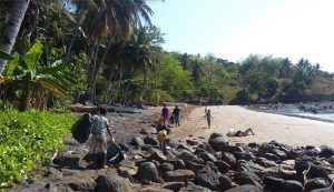 La plage de Nyambadao fermée
