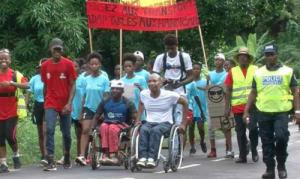 Docteur Léo a entamé son Tour de Mayotte en Fauteuil
