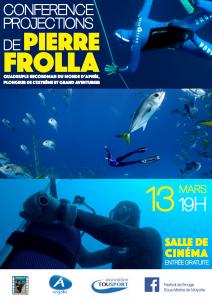 Festival de la Mer et de l'Image sous-marine: Pierre Folla se dévoile au cinéma