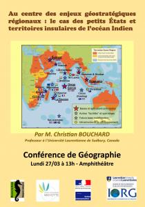 Conférence sur les enjeux géostratégiques régionaux