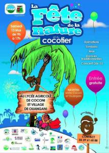 La Fête de la Nature et du Cocotier au lycée agricole de Coconi et dans le village de Ouangani