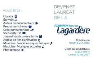 Appel à candidatures : Devenez lauréat de la Fondation Jean-Luc Lagardère !