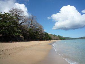La plage de N'Gouja interdite à la baignade