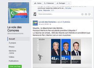 Mayotte insultée par les Comores