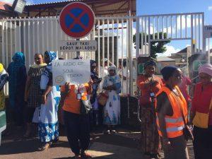 Mouvements sociaux : le Centre Hospitalier de Mayotte bloqué