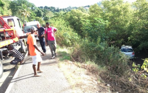 Taxi dans la mangrove à cause d'une crise d'épilepsie