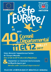 Mayotte célèbre la fête de l'Europe !