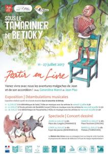Concerts dessinés, spectacles et expositions… «Partir en Livre» aux quatre coins de Mayotte!