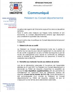 Le document de cession du service des hydrocarbures retrouvé !