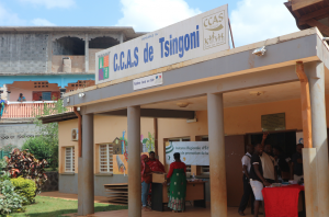 Le CCAS de Tsingoni inauguré