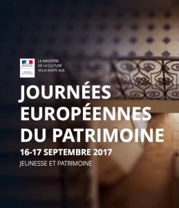 Journée européennes patrimoine 2017