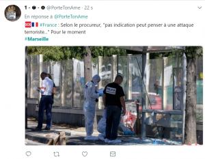 Une mahoraise de 29 ans grièvement blessée à Marseille