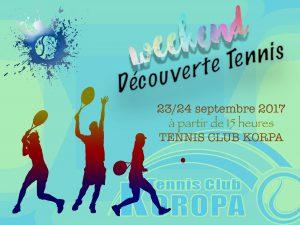 Week-end découverte pour le Tennis Club Koropa