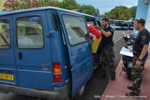 Gendarmerie immigration