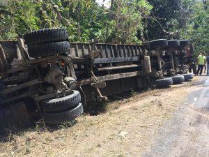 Spectaculaire accident du côté de Longoni