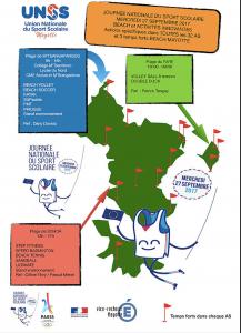 Journée du sport scolaire mercredi 27 septembre: Mayotte met l'accent sur les Beach-Sports