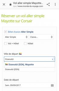 L'agence monde-du-voyage.com situe Mayotte… aux Comores