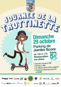 Le Lions Club Mayotte Lagon organise la journée de la trottinette