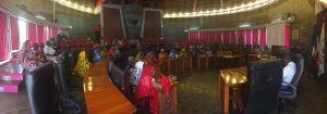 Le collectif de Mayotte reçu actuellement au Conseil Départemental