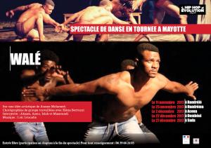Le spectacle de danse WALÉ en tournée à Mayotte
