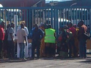 Les grévistes MCG en route pour le Conseil Départemental