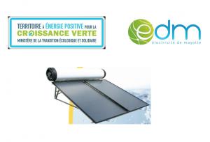 EDM et le conseil départemental encouragent le déploiement des chauffe-eau solaires