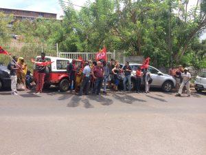 En grève ce jour, la CGT Éduc'action a été reçue au vice-rectorat