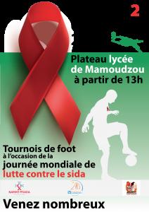 Tournoi de football à l'occasion de la journée mondiale de lutte contre le VIH-SIDA