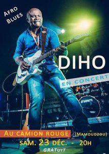 Affiche concert DIHO